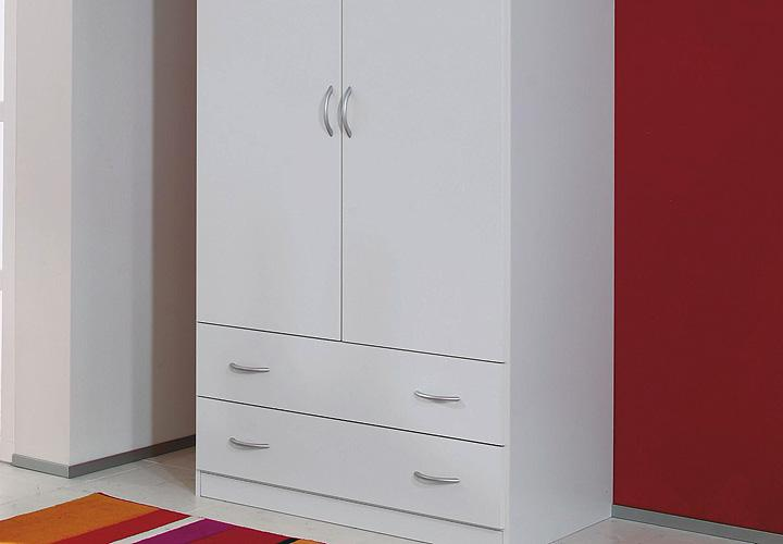 kleiderschrank case schrank dreht renschrank in wei 91 cm. Black Bedroom Furniture Sets. Home Design Ideas