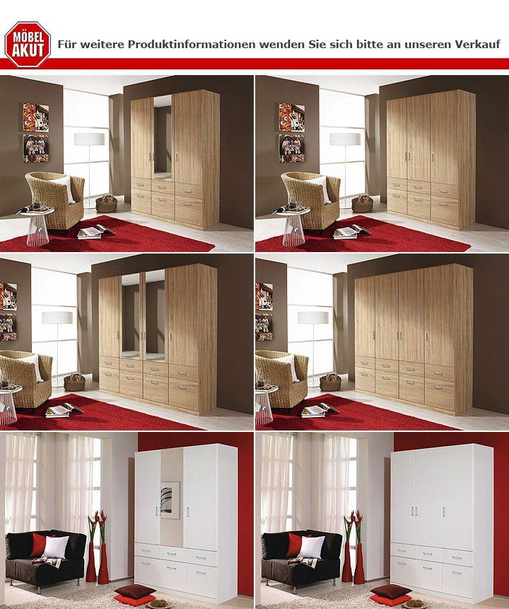kleiderschrank aalen sonoma eiche 181 cm. Black Bedroom Furniture Sets. Home Design Ideas