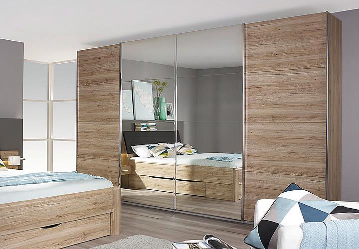 schwebet renschrank bensheim eiche sanremo hell b 360 cm. Black Bedroom Furniture Sets. Home Design Ideas