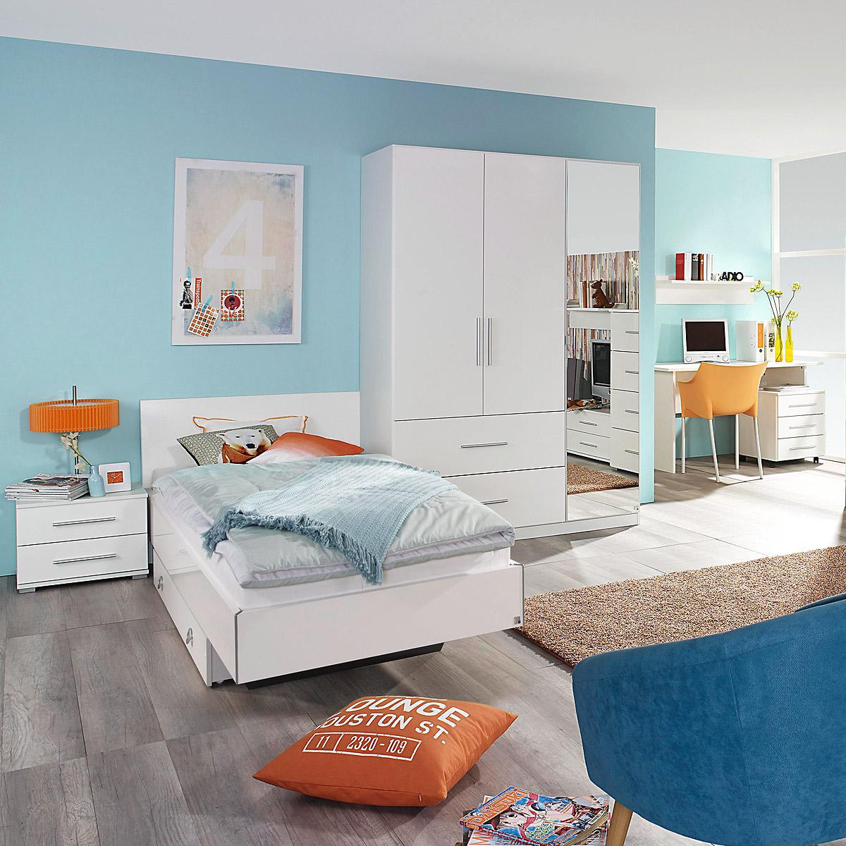 Bezaubernd Bett Jugendzimmer Das Beste Von Das Bild Wird Geladen Jugendzimmer-set-manja-bett -kleiderschrank-schreibtsch-nako-5-