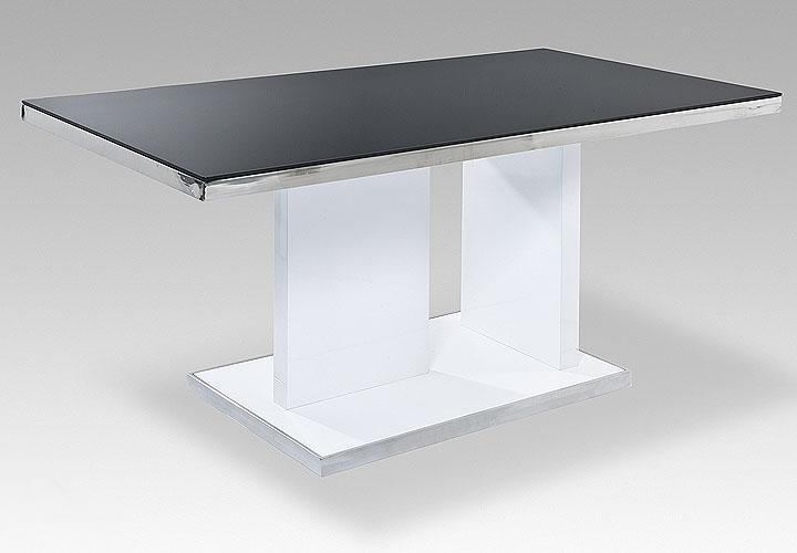 Tisch Ikea Glas Weiß Chrom : Esstisch Ganor Tisch in weiß Hochglanz ...