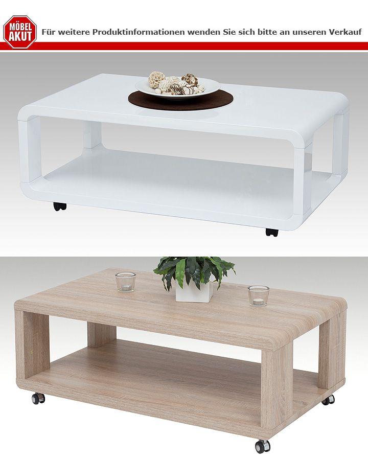 couchtisch bilbao mdf wei hochglanz 105x60 cm. Black Bedroom Furniture Sets. Home Design Ideas