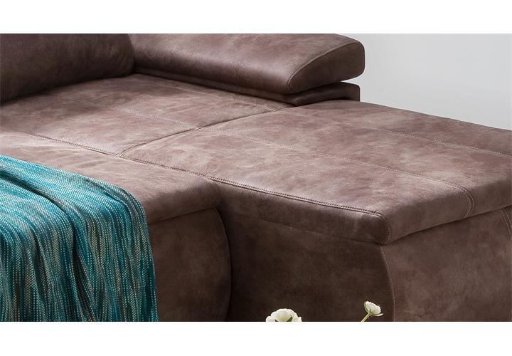 ecksofa celina antik braun inkl funktionen 274x180. Black Bedroom Furniture Sets. Home Design Ideas