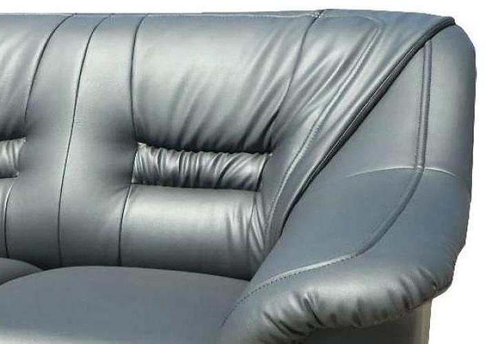 2er sofa milano grau 150 cm. Black Bedroom Furniture Sets. Home Design Ideas
