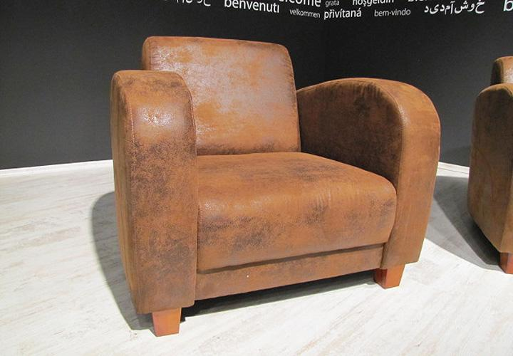 Sessel antis antik cognac braun 93 cm for Sessel antik