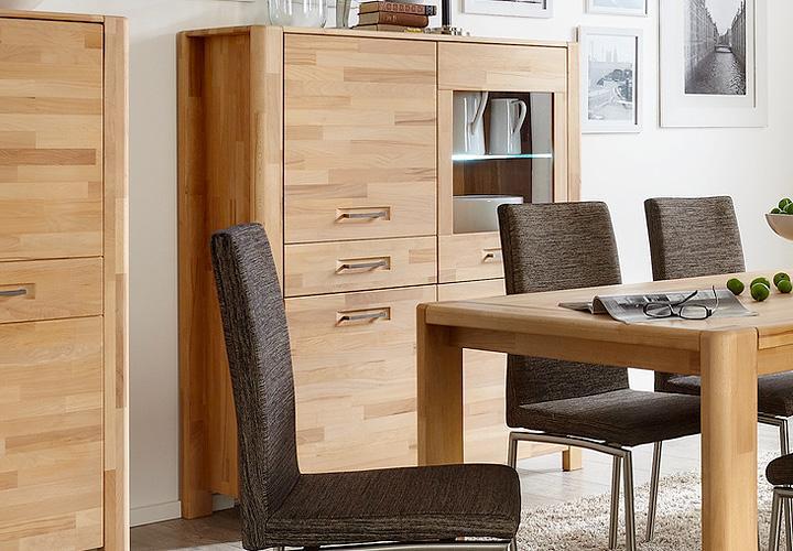 highboard 1 milla kern buche massiv ge lt. Black Bedroom Furniture Sets. Home Design Ideas