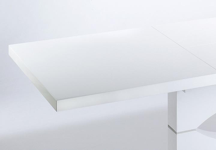 esstisch ivy wei hochglanz lackiert ausziehbar 140 200x90. Black Bedroom Furniture Sets. Home Design Ideas