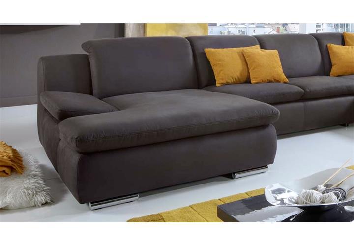 wohnlandschaft isona ecksofa in anthrazit mit funktion. Black Bedroom Furniture Sets. Home Design Ideas