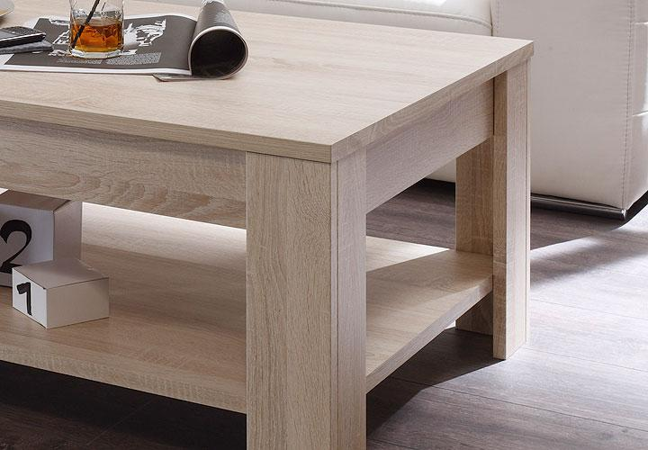 rustica couchtisch ii sonoma eiche. Black Bedroom Furniture Sets. Home Design Ideas