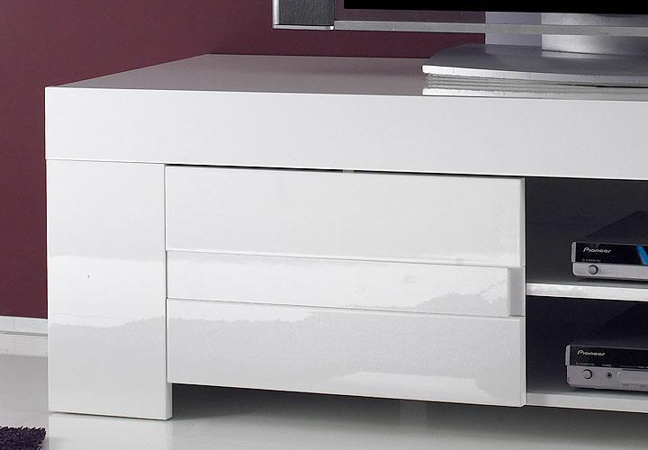EOS TVLowboard Weiß echt Hochglanz lackiert -> Lowboard Weiß Ikea