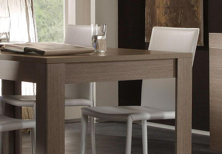 esstisch eos tisch k chentisch in eiche grau dekor 160x90. Black Bedroom Furniture Sets. Home Design Ideas