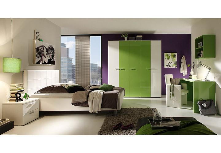 polsterbett smart bett schlafzimmerbett in wei 140x200 cm. Black Bedroom Furniture Sets. Home Design Ideas