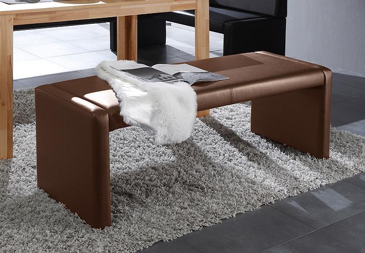 sitzbank berlin in braun gepolstert esszimmerm bel. Black Bedroom Furniture Sets. Home Design Ideas