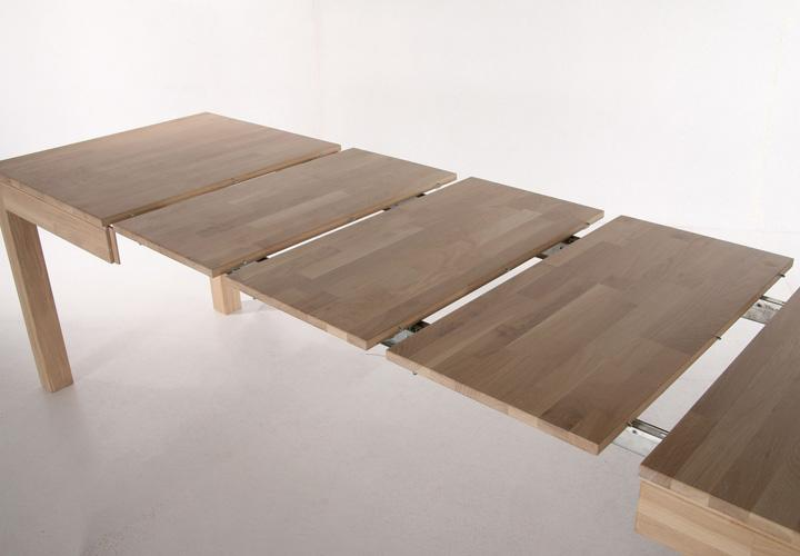 raffo esstisch sonoma eiche massiv 140 260x80 cm. Black Bedroom Furniture Sets. Home Design Ideas