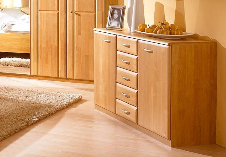 sideboard monza kommode erle massiv neu ovp ebay. Black Bedroom Furniture Sets. Home Design Ideas