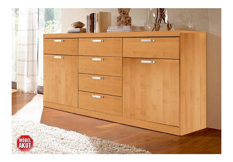sideboard novio kommode erle topas massiv neu ebay. Black Bedroom Furniture Sets. Home Design Ideas