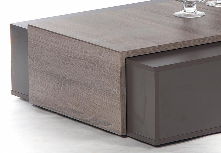 love couchtisch dunkelbraun und sonoma eiche dunkel. Black Bedroom Furniture Sets. Home Design Ideas