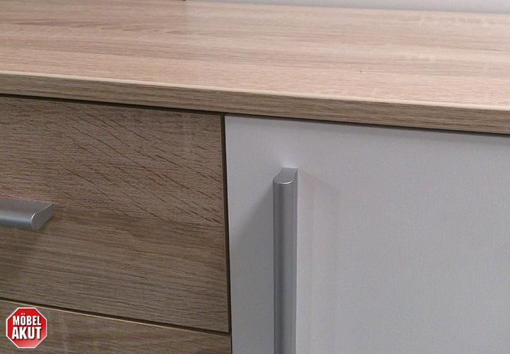 sideboard trier weiss eiche sonoma s gerau. Black Bedroom Furniture Sets. Home Design Ideas