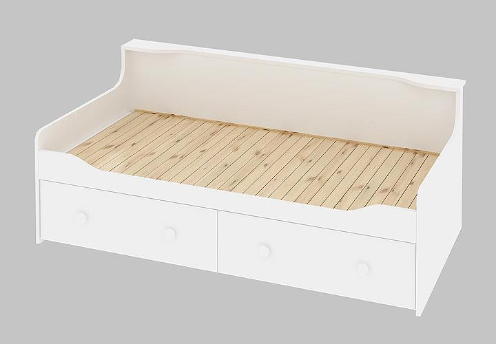 ausziehbett combee g stebett jugendzimmer in wei 80x200 cm. Black Bedroom Furniture Sets. Home Design Ideas