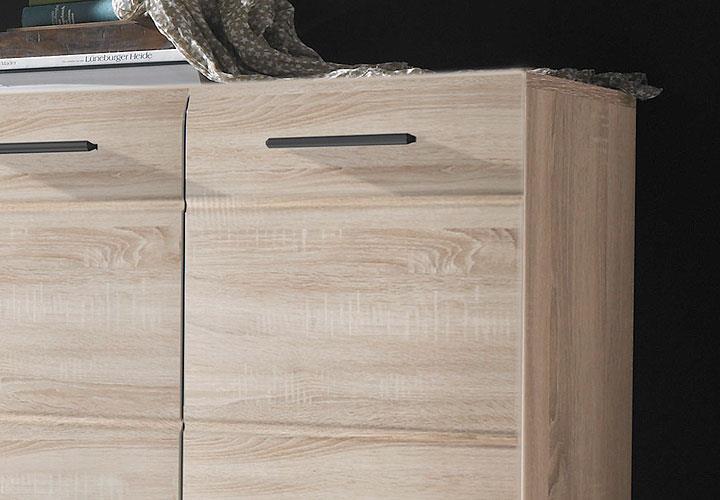 schuhkommode skin eiche s gerau hell. Black Bedroom Furniture Sets. Home Design Ideas