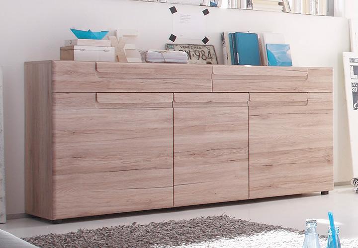 sideboard in esche hell farbe das beste aus wohndesign. Black Bedroom Furniture Sets. Home Design Ideas
