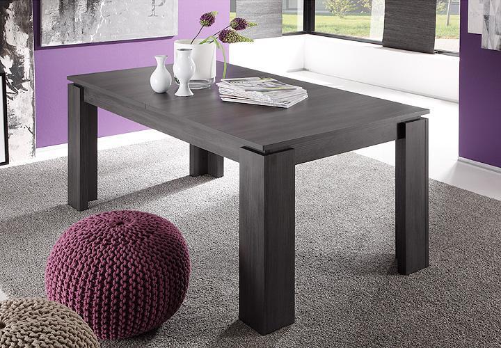 esstisch xpress esche grau ausziehbar 160 200x90 cm. Black Bedroom Furniture Sets. Home Design Ideas