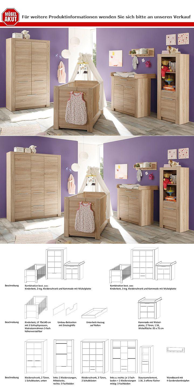 stauraumelement carlotta regal in eiche s gerau hell. Black Bedroom Furniture Sets. Home Design Ideas