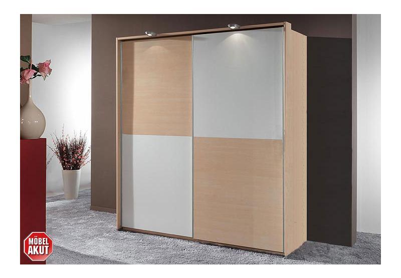 schwebet renschrank hot kleiderschrank ahorn wei b 180 ebay. Black Bedroom Furniture Sets. Home Design Ideas