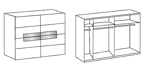 schwebet renschrank advantage alpinwei glas sahara grau 250. Black Bedroom Furniture Sets. Home Design Ideas