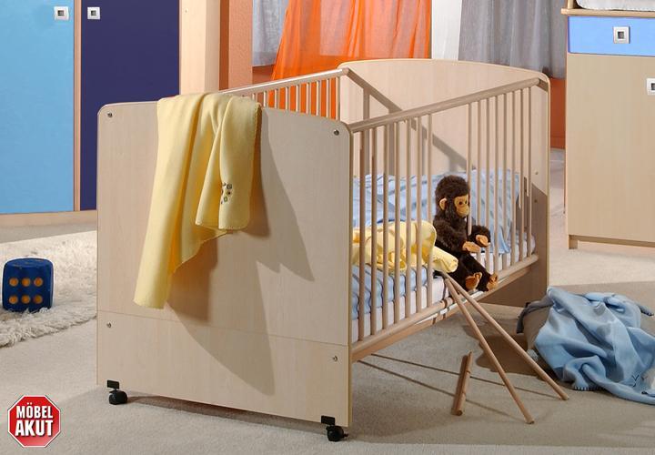 babyzimmer sunny 3 teiliges set ahorn iceblau marineblau. Black Bedroom Furniture Sets. Home Design Ideas