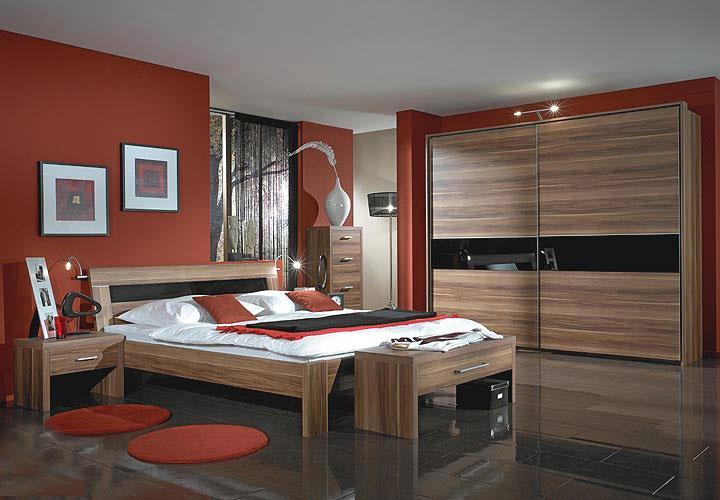 Schlafzimmer Komet : Schlafzimmer Nussbaum Schwarz  MONTE CARLO SchlafzimmerSet Nussbaum