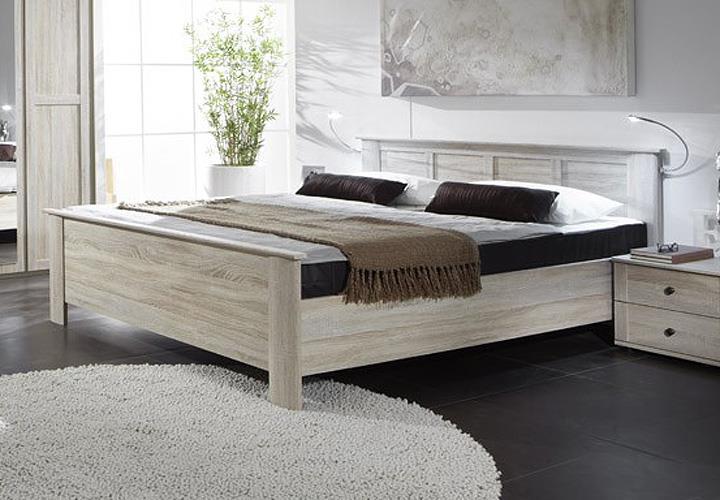 kompaktbett chalet in eiche sonoma h henverstellbar 180x200. Black Bedroom Furniture Sets. Home Design Ideas