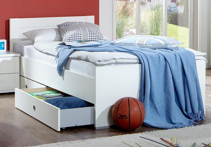pin bild bett roma 90x200 cm in wei von bonprix on pinterest. Black Bedroom Furniture Sets. Home Design Ideas