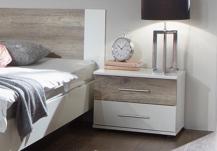 Boxspringbett Schlafzimmer Set : Schlafzimmer Set FRANZISKA Weiß ...