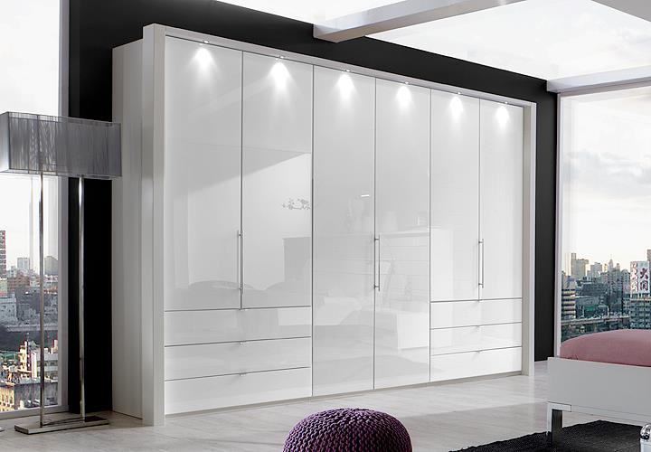 kleiderschrank loft faltt renschrank schrank in wei und. Black Bedroom Furniture Sets. Home Design Ideas