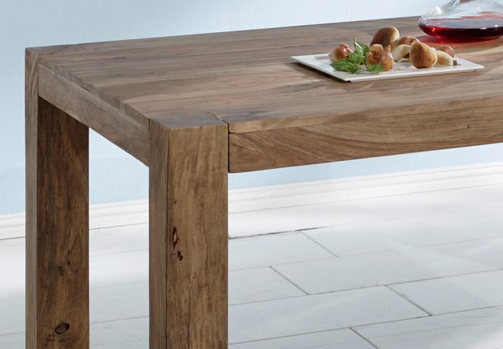 esstisch yoga 200x100 sheesham massivholz von wolf m bel. Black Bedroom Furniture Sets. Home Design Ideas