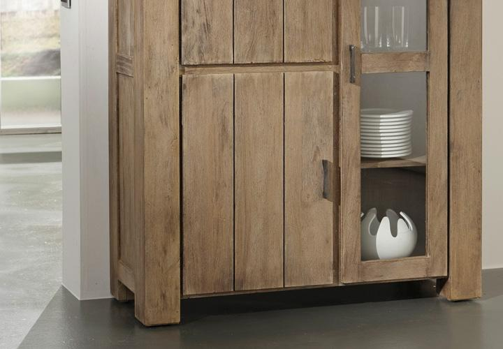 venice highboard akazie sand massiv von wolf m bel. Black Bedroom Furniture Sets. Home Design Ideas
