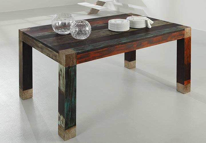 Esstisch 180×100 GOA von Wolf Möbel in Massivholz Mango