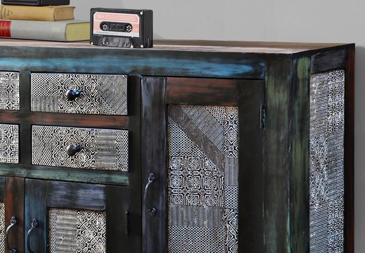 Sideboard Kommode GOA von Wolf Möbel in Massivholz Man