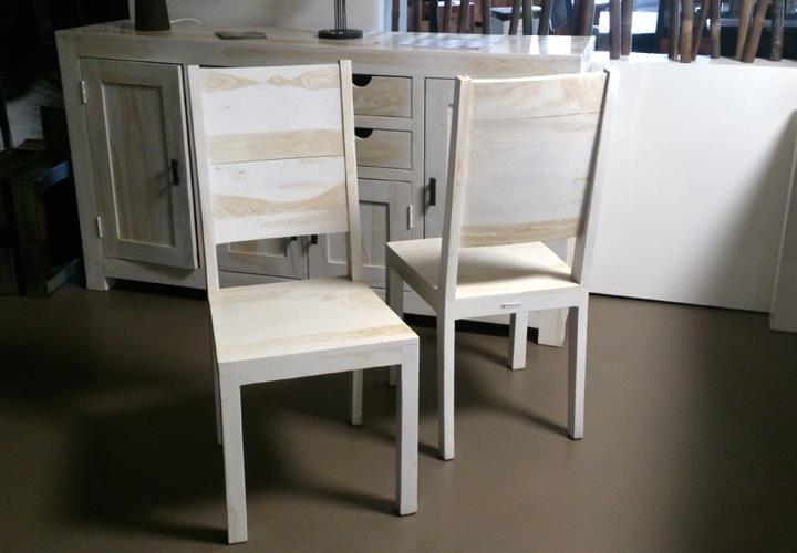 stuhl 2er set yoga 6153 sheesham marble landhaus wolf m bel. Black Bedroom Furniture Sets. Home Design Ideas