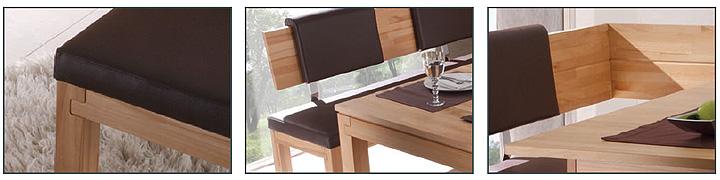 eckbank sarah middle rechts kernbuche massiv lackiert sitz. Black Bedroom Furniture Sets. Home Design Ideas