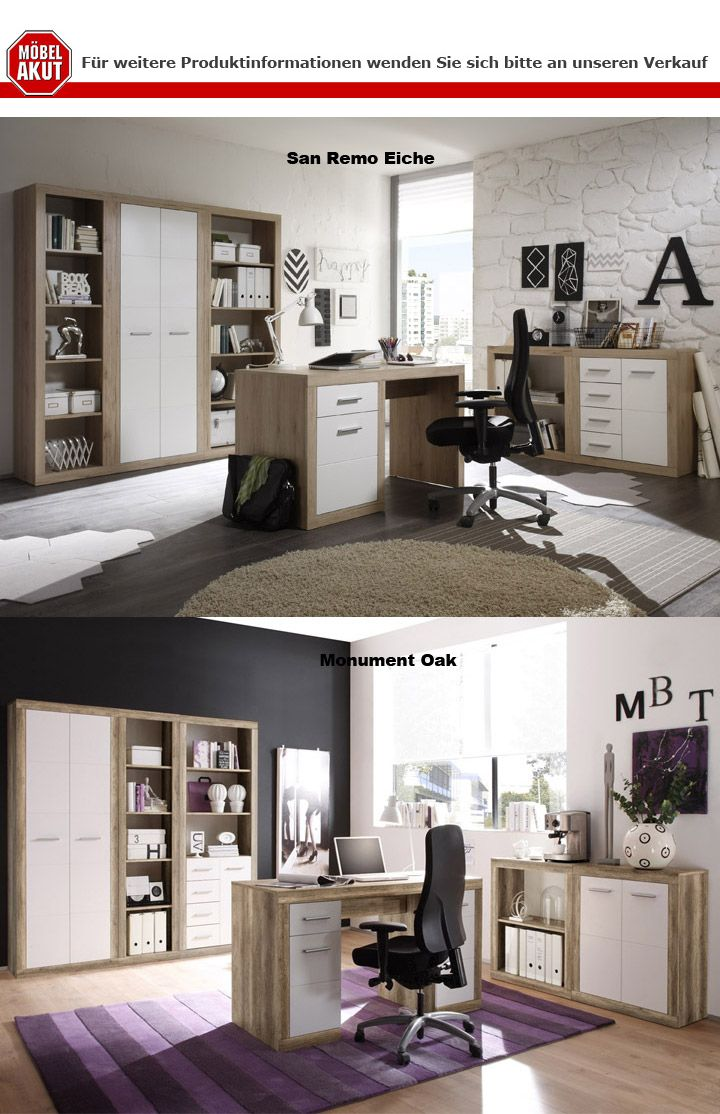 regal 3 can can regalelement stauraumelement schrank san remo eiche ebay. Black Bedroom Furniture Sets. Home Design Ideas
