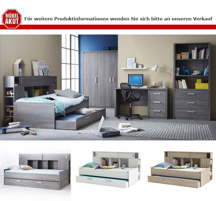 schreibtisch sherwood computertisch pc tisch b rotisch in prata eiche. Black Bedroom Furniture Sets. Home Design Ideas