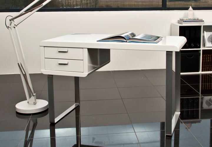 schreibtisch rodos b rotisch tisch in wei hochglanz. Black Bedroom Furniture Sets. Home Design Ideas