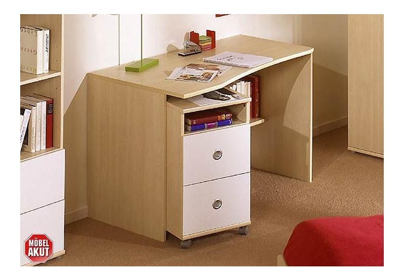 Schreibtisch vicky tisch in ahorn jugendzimmer ebay for Tisch jugendzimmer