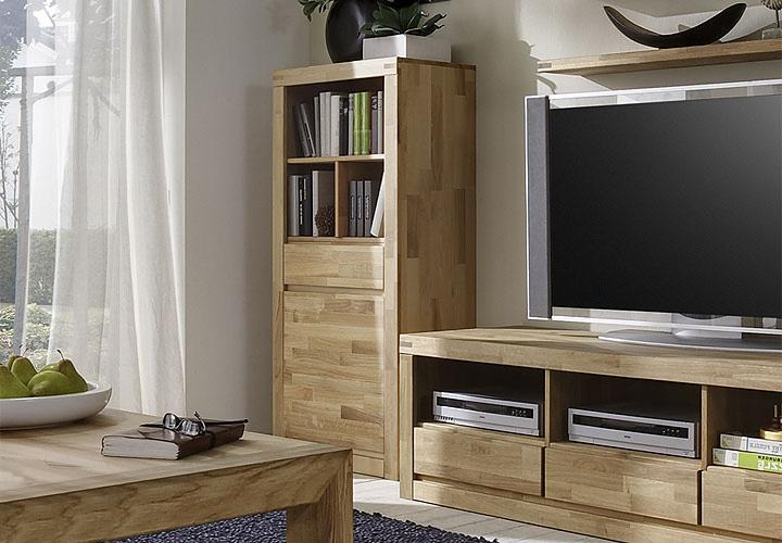 regal delta schrank in eiche massiv geolt neu ebay. Black Bedroom Furniture Sets. Home Design Ideas