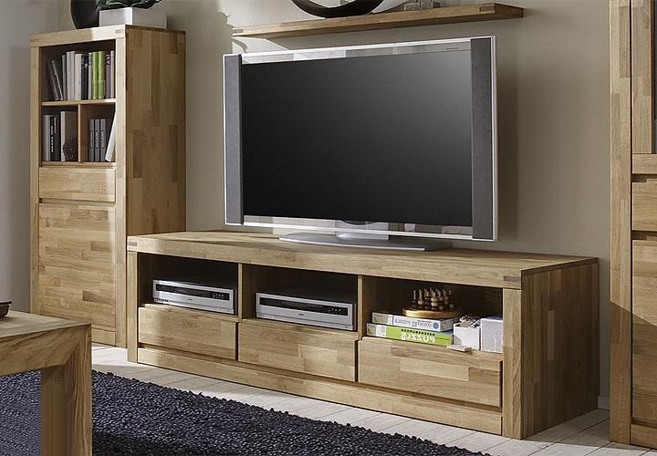 delta tv board iii eiche massiv ge lt. Black Bedroom Furniture Sets. Home Design Ideas