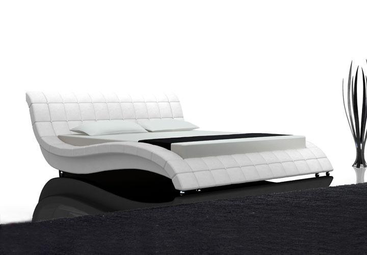 kono bett 180x200 wei. Black Bedroom Furniture Sets. Home Design Ideas