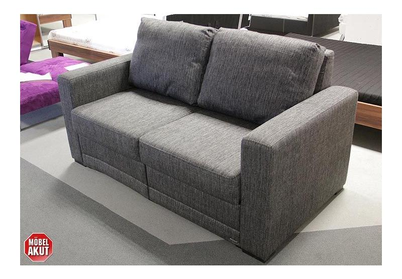 schlafsofa poga sofa in grau bettfunktion neu ebay. Black Bedroom Furniture Sets. Home Design Ideas