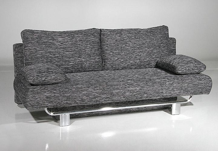 Schlafsofa night sofa funktionssofa mit bettfunktion grau for Schlafsofa mit bettfunktion